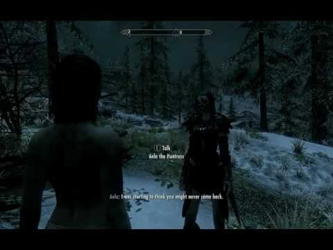 how to become a vampire in skyrim