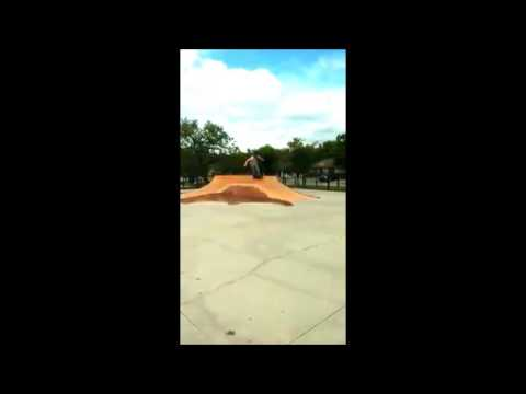 Skateboarder Shawn Huetter