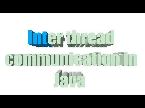 Inter Thread Communication In Java | Producer Consumer Problem