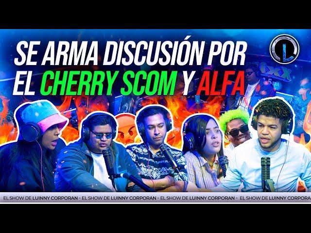 """SE ARMA FUERTE DISCUSIÓN EN CABINA POR CHERRY BAJARSE PANTALONES EN EL CONCIERTO DEL ALFA """"EL JEFE"""""""