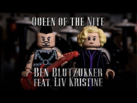Ben Blutzukker feat. Liv Kristine - Queen of the Nite (Official Lego-Lyric-Video)