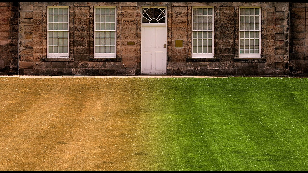 Photoshop quick tip tutorial how to make burnt out brown for How to make house green