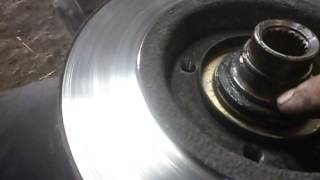 видео Ваз 2110: замена передней ступицы своими руками