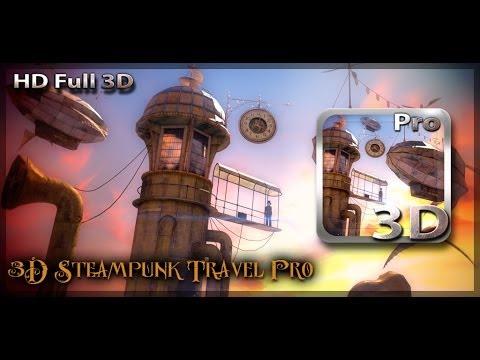 3D Steampunk Travel Pro Live Wallpaper