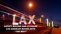 Santa Monica Best Moving Company, Agosti Moving and Storage, #1 Rated In Los Angeles