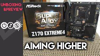 unboxing  Asrock Z170 Extreme 4  Intel Core i5 6600K Deutsch