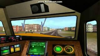 Amazing K3LA horn Echo in BNSFdash 9 cab