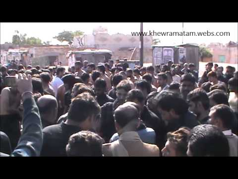 (Part-1) 9th Muharram 1435 2013-14 | Markazi Azadari-e-Hussain(as) Jaloos | Khewra,Pakistan |