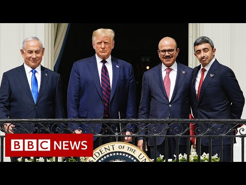 Trump Hails 'dawn Of New Middle East' With UAE-Bahrain-Israel Deals - BBC News