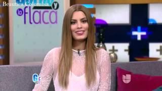 Entrevista Miss Colombia Ariadna Gutierrez en El Gordo y La Flaca - Univision