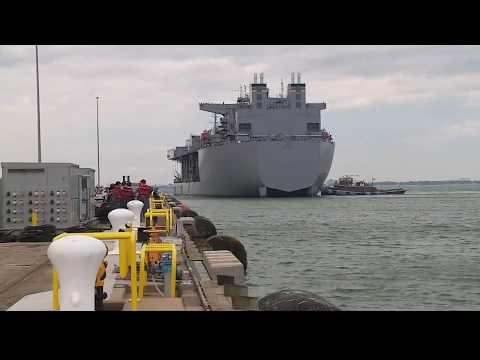 USNS Lewis B. Puller deploys from Naval Station Norfolk