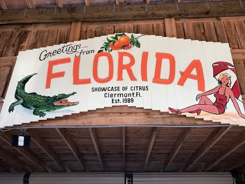 Monster Trucks, Oranges & Alligators! We Visit Showcase Of Citrus In Clermont, FL