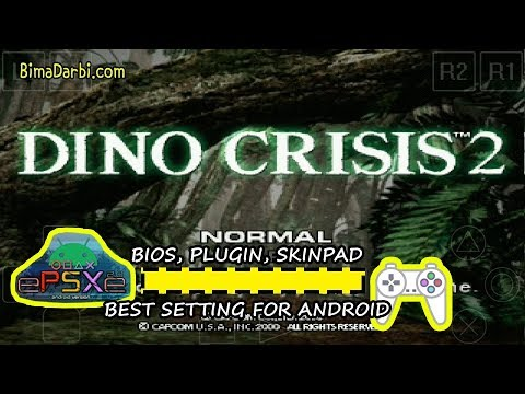 PS1 Android) Dino Crisis 2 | ePSXe Android | HD Graphics For