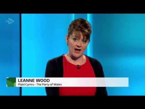 Leanne Wood's closing statement in the TV debate