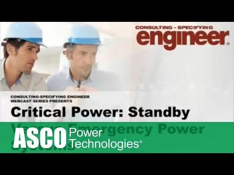 Critical Power : Standby Vs Emergency Power Systems