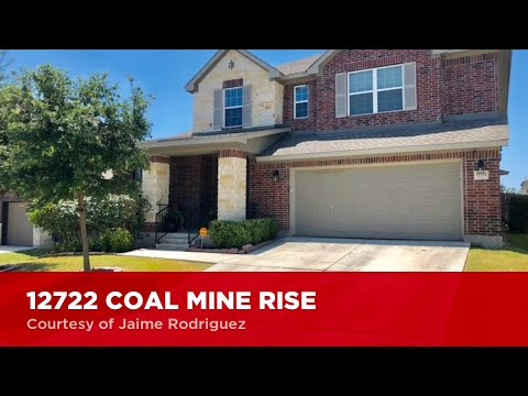 12722 COAL MINE RISE  San Antonio, TX 78245 | Jaime Rodriguez | Alamo Ranch