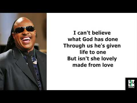 Stevie Wonder - Isn't She Lovely (Lyrics)