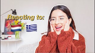 🇳🇱The Netherlands & Greece Eurovision 2019 Reaction 🇬🇷