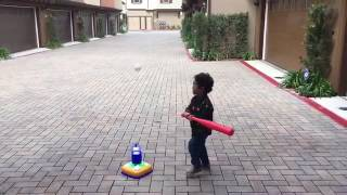 1st time playing T-Ball