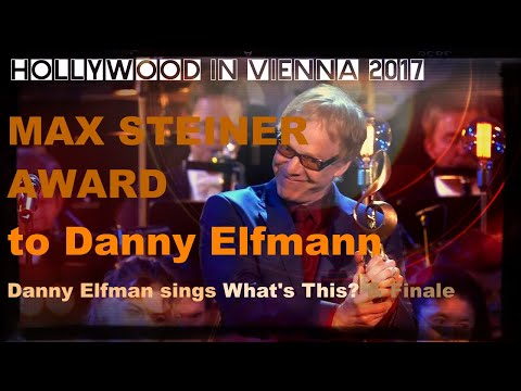 MAX STEINER Award 2017 for Danny Elfman [Hollywood in Vienna 2017]