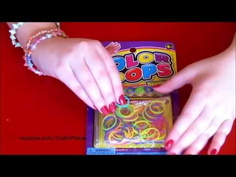 Rainbow Loom Rubber Band Haul - Dollar Store Rubber Bands For Bracelets, Rings, Charms, Twistz Bandz