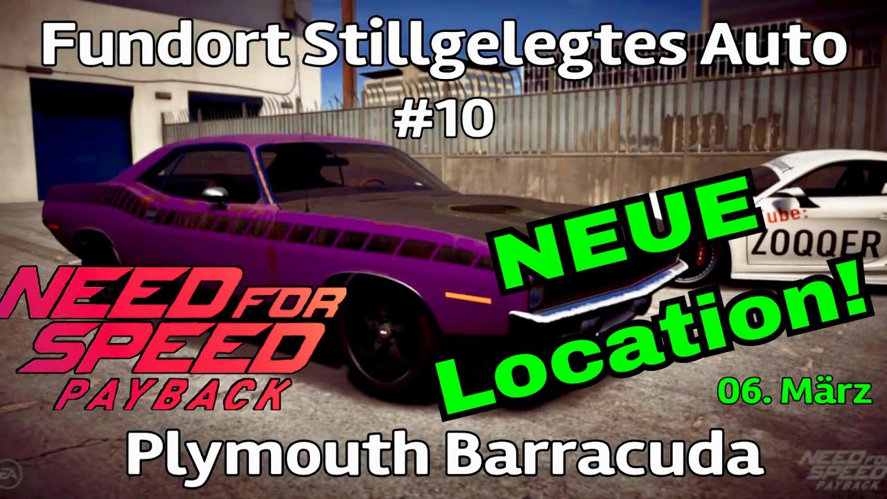 need for speed payback stillgelegtes auto aktuell