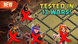 NEW Town Hall 9 WAR BASE | (Anti-GoHo, LavaLoon, Queen-Walk, Valkyrie) TESTED IN 13 WARS! 2019