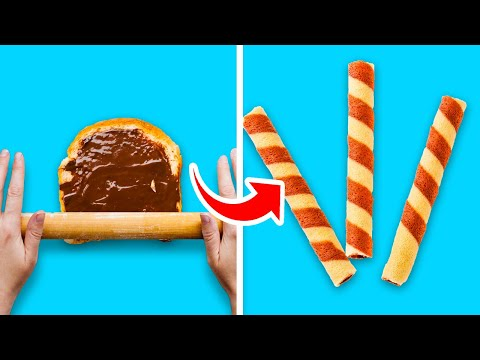 29 UNUSUAL COOKING HACKS WITH BREAD AND OTHER GOODIES || Crazy Cooking Tips by 5-Minute Recipes!