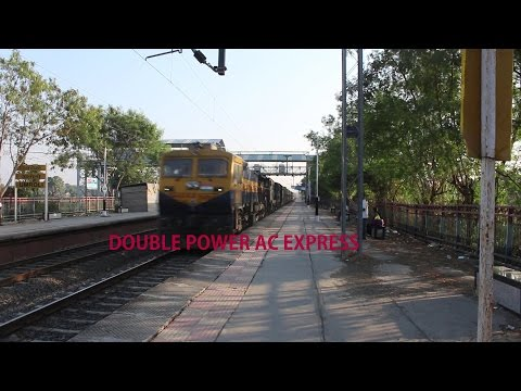 Double Power : Mega Offlink PUNE WDG 4D and Dead Abu Road ALCO with Bikaner AC EXPRESS!!