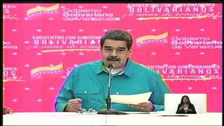 Presidente Maduro resalta labor de gobernador Rodolfo Marco Torres
