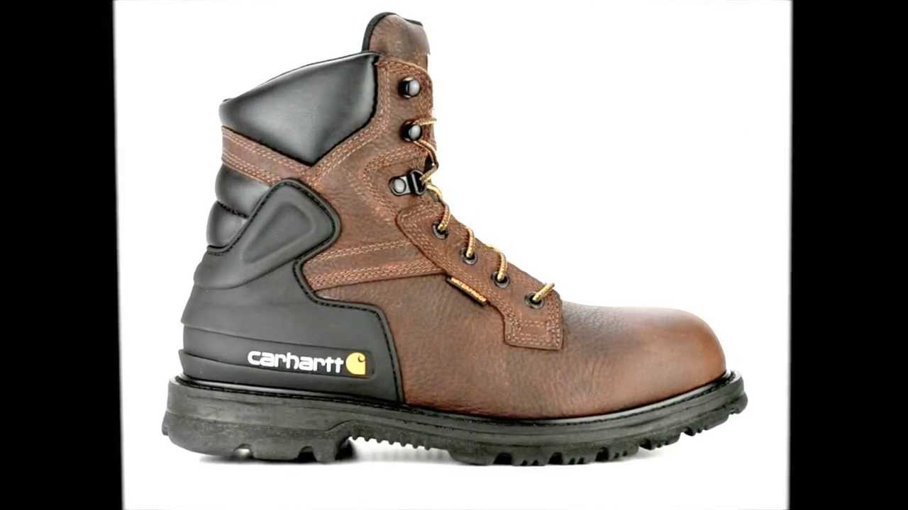 Men's Carhartt CMW6239 Steel Toe Waterproof & Insulated Work Boot ...