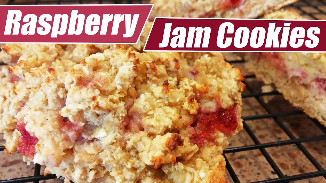 Raspberry Jam Cookies with Kara Corey - YouTube