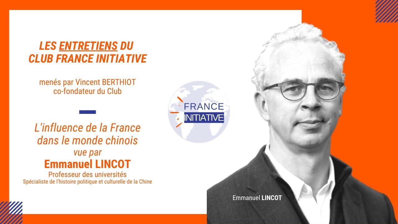 Les Entretiens du CFI : Emmanuel LINCOT, Professeur des universités