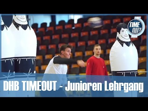 DHB TIMEOUT - Lehrgang Junioren in Warendorf
