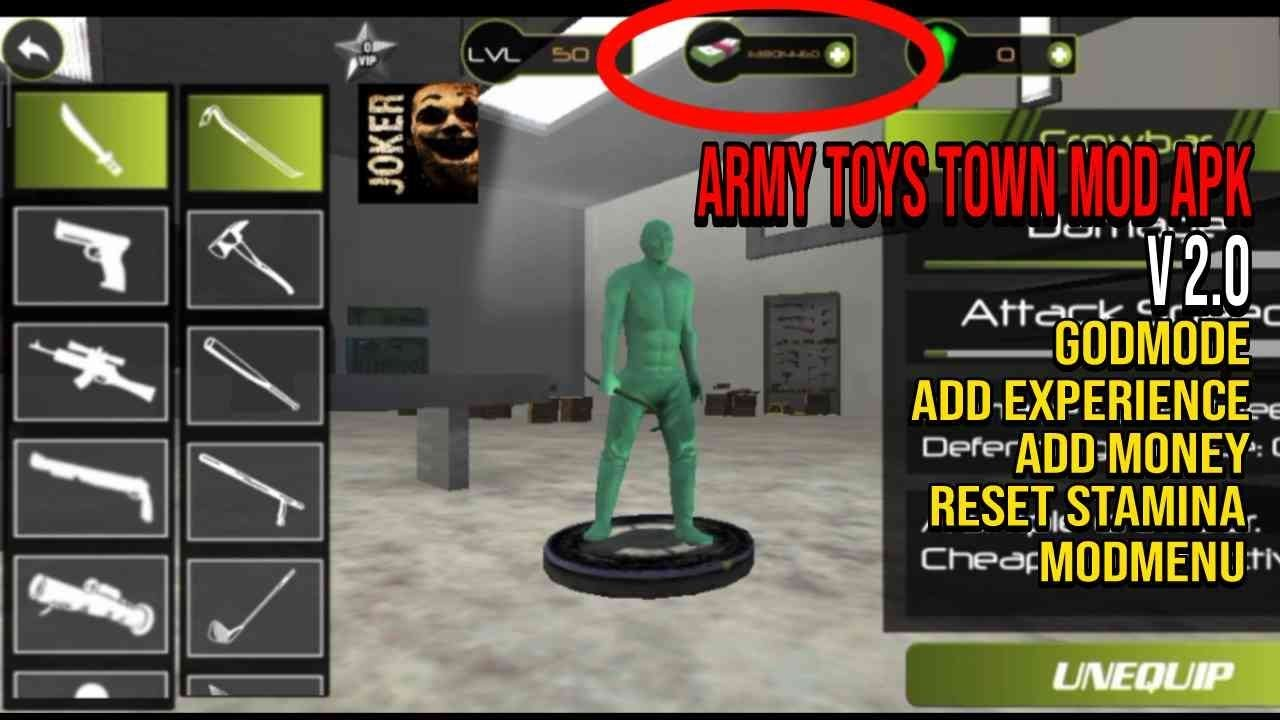 Cheat Army Toys Town : Action Game v2.0 Mod APK | Mod ...