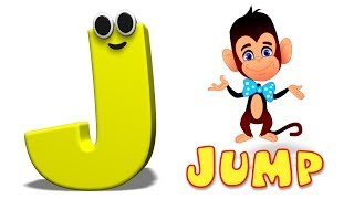 Phonics Letter- J song | Alphabet Songs For Toddlers | ABC Rhymes For Children by Kids Tv