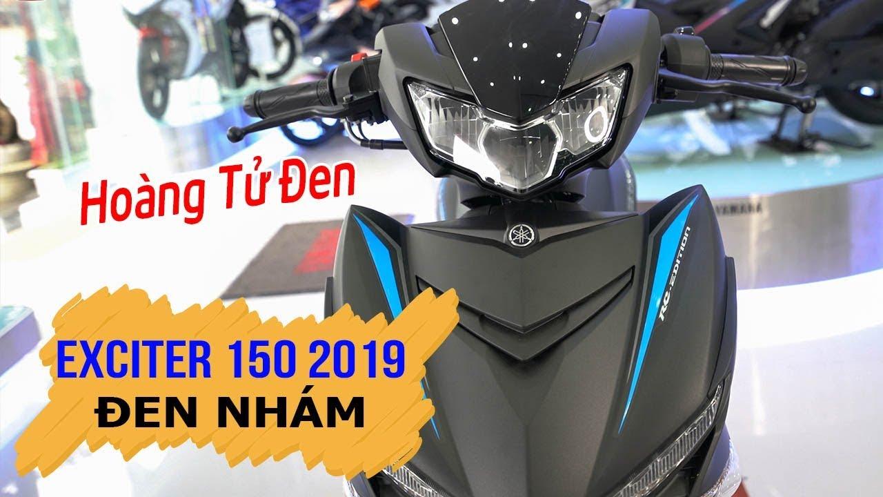 """Yamaha Exciter 150 2019 Đen Nhám """"Hoàng Tử Đen"""" xuất hiện ▶ Đánh giá chi tiết!"""