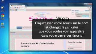 Mettre un site en favori sur google chrome