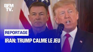 Iran: Trump calme le jeu