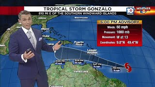 The tropics are busy, and local 10 meteorologist luke dorris gets you up to speed with systems being closely watched by national hurricane center.