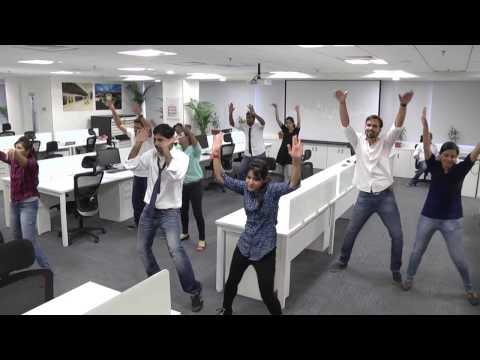 Arcadis GEC India Hyderabad Office FlashMob
