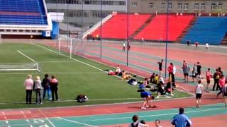Саратов. Легкая атлетика. 400 метров мужчины. 27.04.2013
