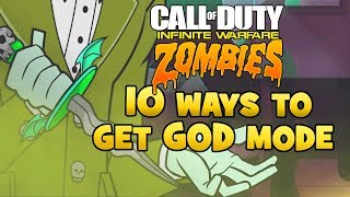 Infinite Warfare Zombie Glitch - 10 Ways To Get GOD MODE ALL MAPS - ALL IW ZOMBIE GOD MODE GLITCHES