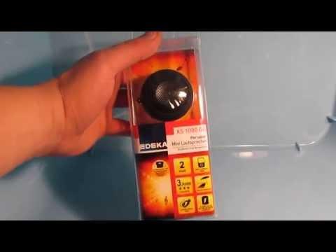 UNBOXING MINI SPEAKER Portabler Mini Lautsprecher XS 1000 GO von EDEKA