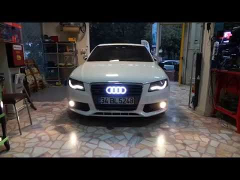 audi a5 logo led uygulamas youtube. Black Bedroom Furniture Sets. Home Design Ideas