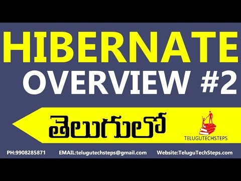 hibernate-introduction-class-for-beginner-2018-in-telugu-part-2.