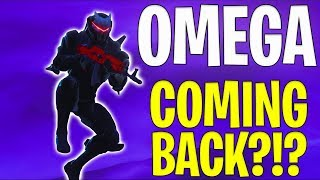 FORTNITE OMEGA SKIN COMING BACK TO FORTNITE | MAX Omega Skin Season 8 Fortnite Concept Season 4