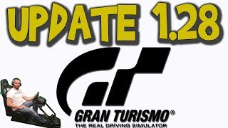 GT Sport - Going over update 1.28 (Fuji)