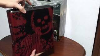 "XBox 360 GEARS OF WAR 3 ""LIMITED EDITION"" (UNBOXING - português BR)"