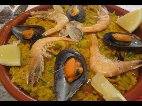 C mo hacer paella de marisco o arroz marinero youtube - Como cocinar paella ...